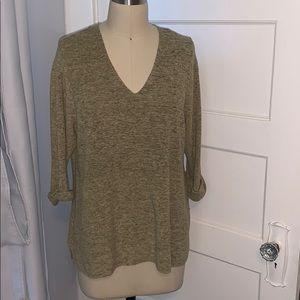 Eileen Fisher Sage 3/4 Sweater